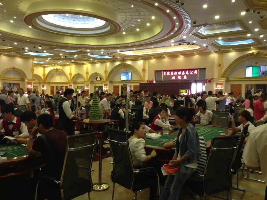 缅甸赌场-新锦福现场火爆图集137.5927.8795