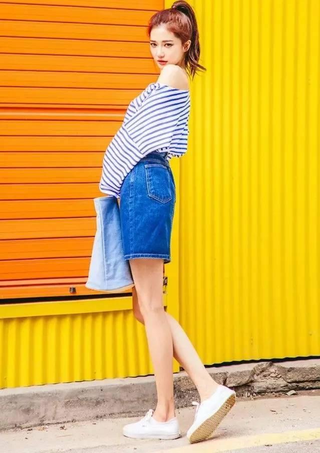 短裤配什么鞋子好看短裤和短裙哪个显腿长