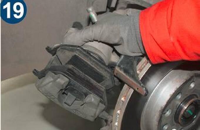 汽车刹车支架结构
