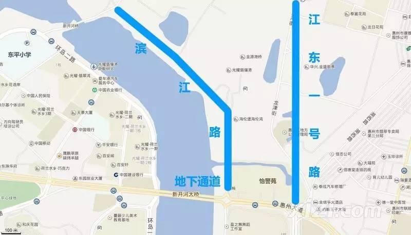 引爆惠州东部新城发展的 导火索 在这 进击中的水口滨江片区