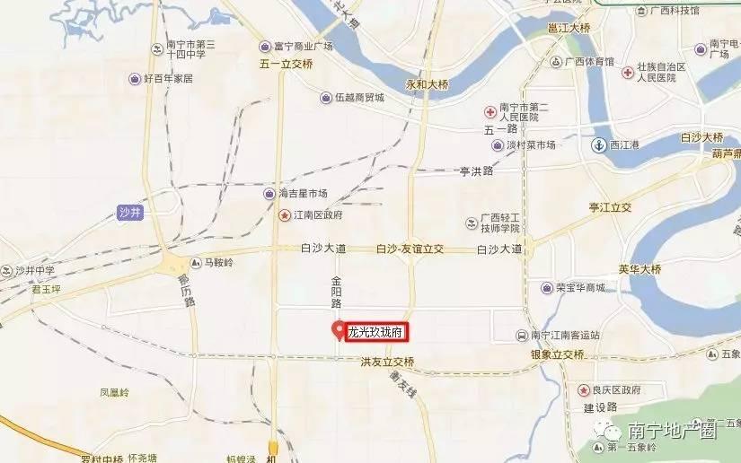 南宁金阳路地图