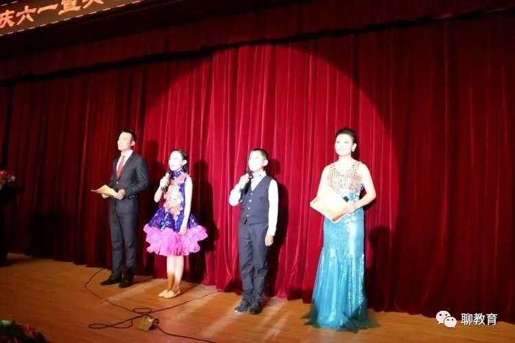 聊城江北水城旅游旅游度假区举行庆六一暨共创文明城市,同享幸福童年文艺演出