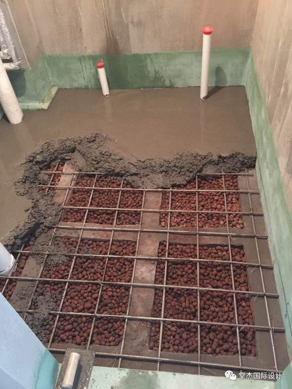 水泥发泡回填卫生间水泥风格卫生间图片5