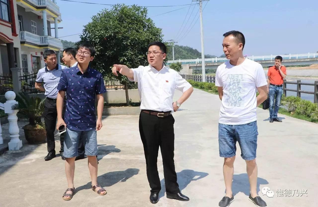 郭峰检查指导主要通道沿线环境整治提升工程