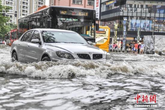 未来三天江南华南将有较强降雨局地有大暴雨(组图)