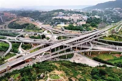 注意 重庆主城 最复杂 立交完工,5层结构15条匝道连通8个方向 连老司机都容易被绕晕
