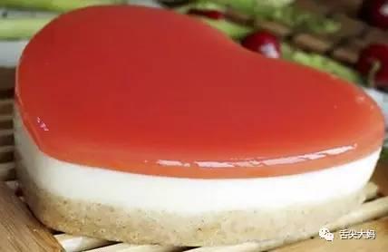 甜品点心:西瓜豆腐慕斯