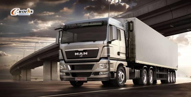 德国MAN重卡震撼大片,领略世界顶尖的卡车制造工艺