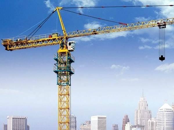 施工现场怎么布置塔吊 图解塔吊选型及定位