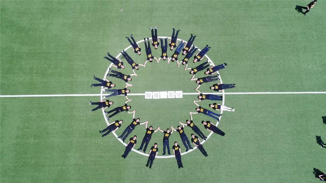 创意集体照 团队展风采 【6月1日】图片