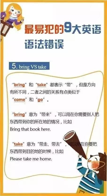 初三二模英语考试最易犯的9大语法错误 早看早知道图片 53776 456x832