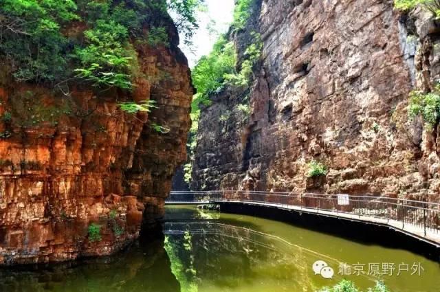【全胜峡】北方喀斯特奇谷全胜峡瀑布成群清凉消夏1日活动