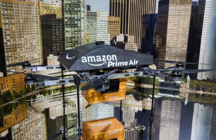 亚马逊无人机获得新专利;腾讯、戴尔等联合创立ICVR  科技资讯 第1张