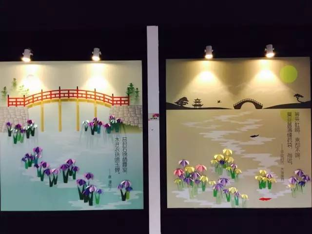 儿童节的好礼物 趣味折纸花菖蒲 内含2分钟教学视频