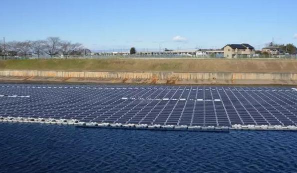 """晶澳供货的全球最大漂浮式太阳能光伏电站并网"""""""