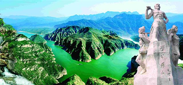 1:王屋山:景区内峰峦叠翠,宫观林立,泉瀑争流,人文荟萃,是一处有万年