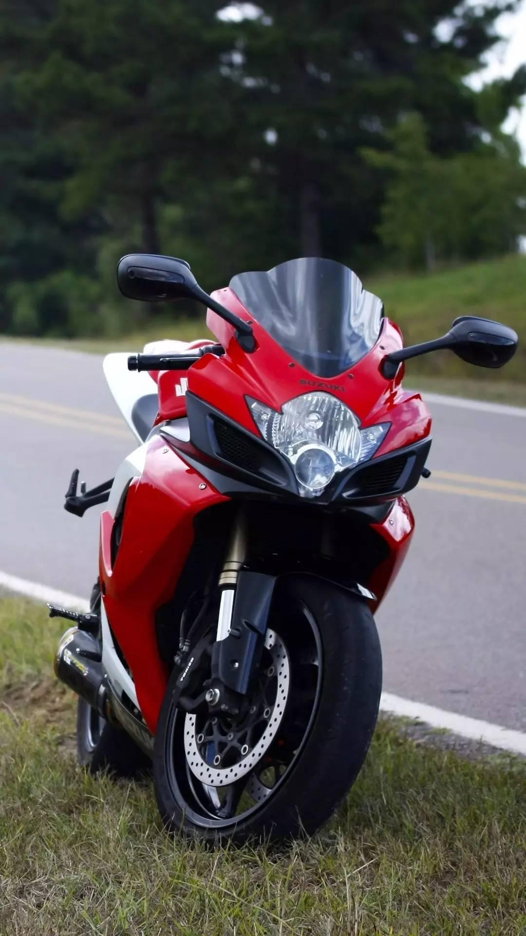 铃木摩托车 手机壁纸