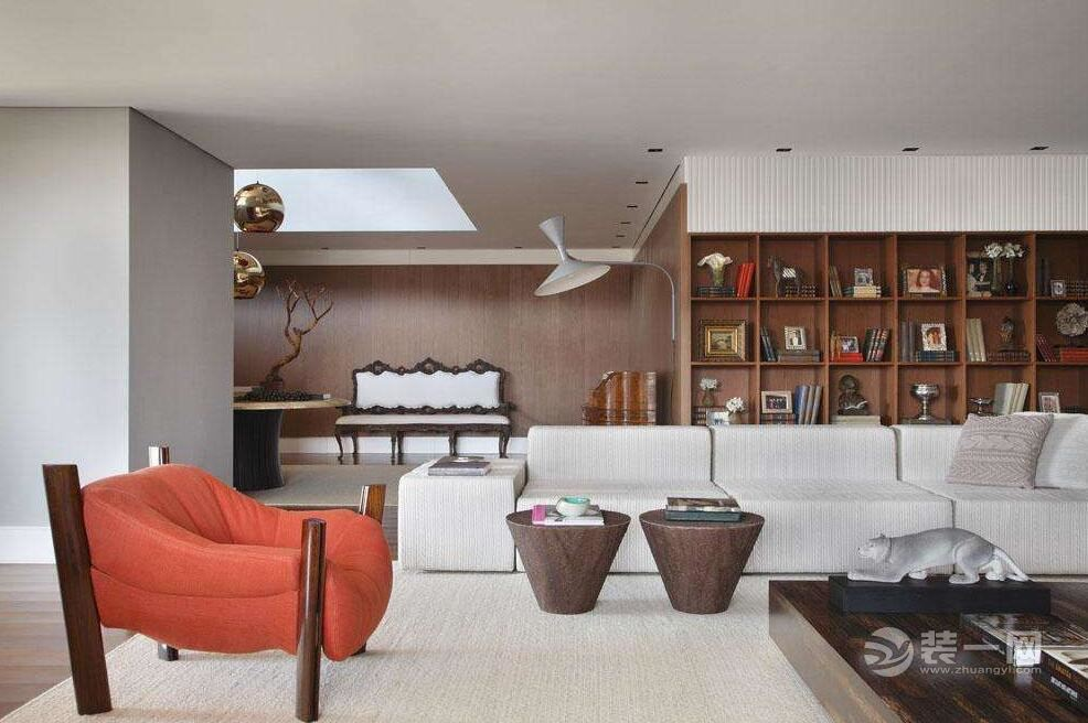 下沉式客厅利与弊 15款装修效果图定义新豪宅概念图片