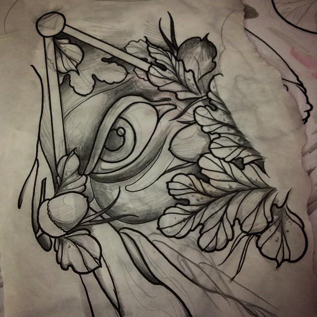 欧美纹身手稿