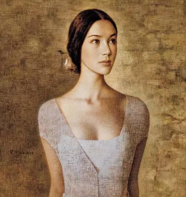 潮汕女人_他画的女人因太美太性感,在全世界有不下1000万次的被