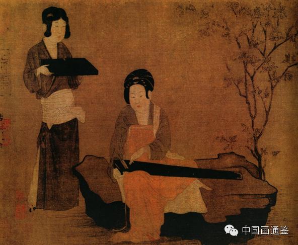从唐代仕女画中的着装看唐朝女性的艺术激情图片