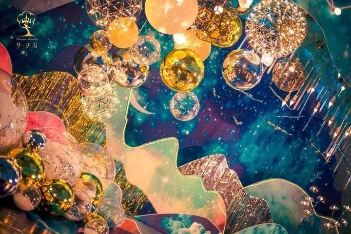 微精选 没有神奇的星辰之力,唯有星空似海洋的浪漫婚礼