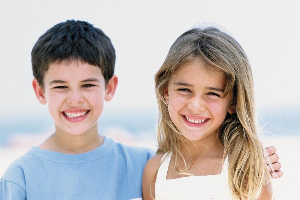 可爱小孩外国