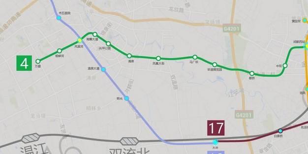 地铁1 18号最详细线路图全在这里了
