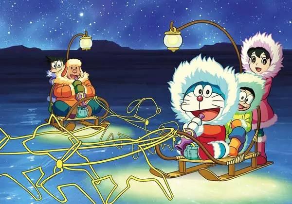 【开启哆啦A梦的任意门,周末我们去南极大冒险!】图片