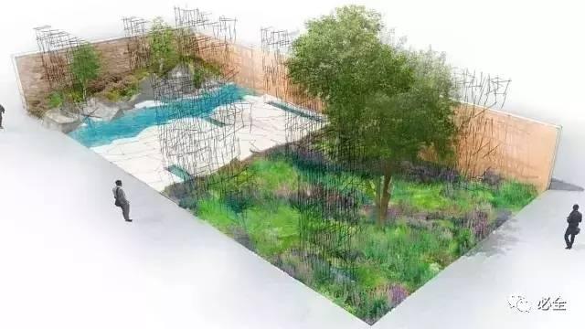 活动 2017年切尔西花展,花园设计大合集