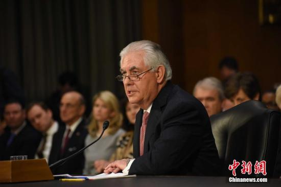美国务卿:美国不会改变减排努力(图)