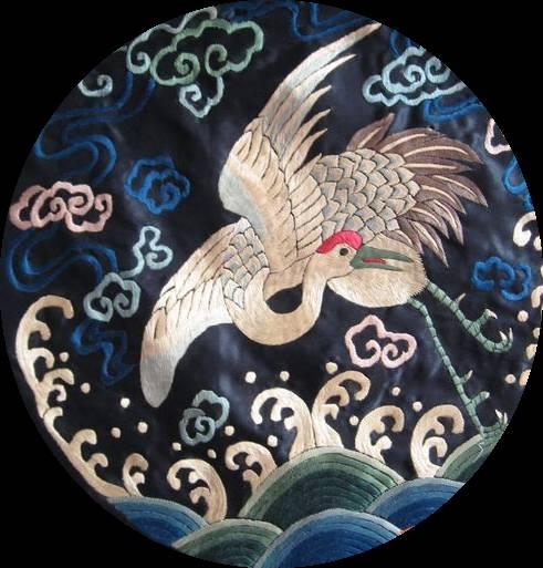 中国传统元素 刺绣图片