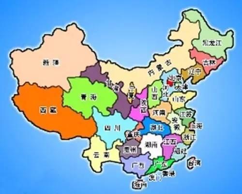 绵延上下五千年的历史 承载了中华民族的血脉 如果没有西安 中国地图