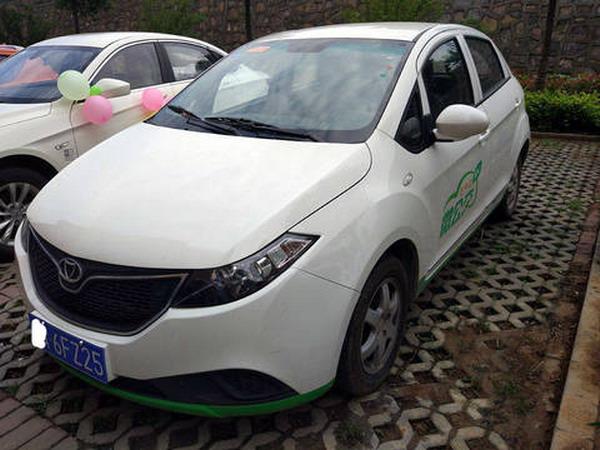佳仕美新能源汽车公司宣布将在遵义推出共享汽车高清图片