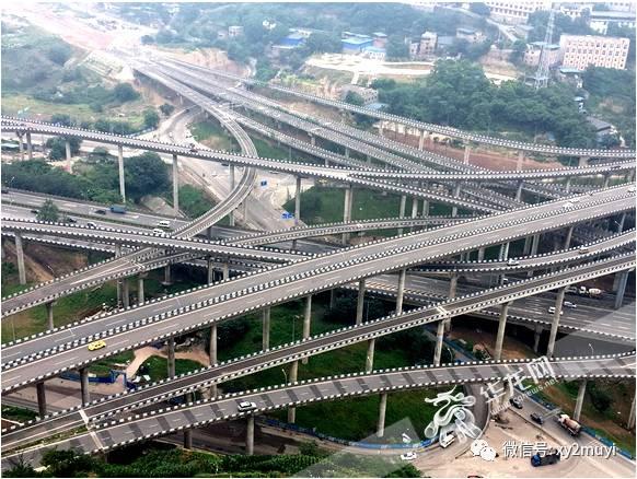 重庆网红立交 司机称 导航途径此地都 沉默