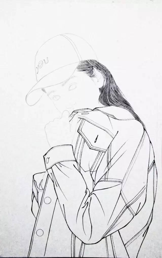 并成立清风堂个人工笔工作室,擅长现代工笔人物,其绘画技法娴熟自然