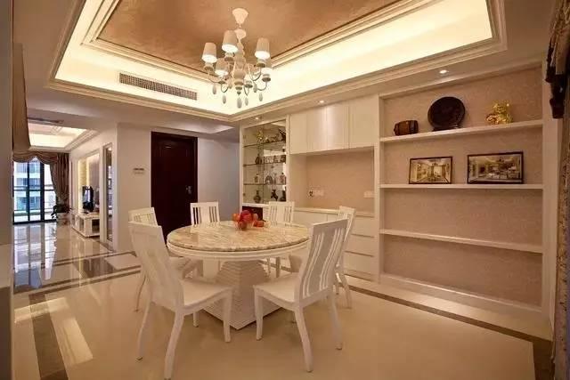 进门玄关餐厅客厅一体装修设计,各种户型各种风格总有