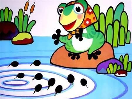小班科学青蛙妈妈和小蝌蚪课后反思图片