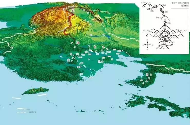 大中原 大风水 中原是中国最大的风水宝地
