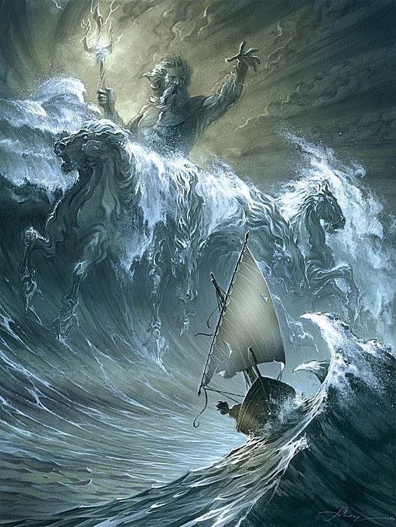 三叉戟:加勒比海盗,海神波塞冬和魔鬼撒旦的交汇处