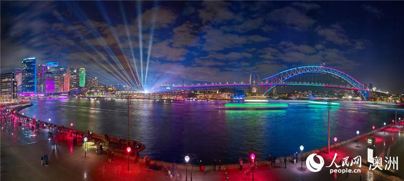 """在悉尼约见最美夜色——悉尼灯光音乐节组图"""""""