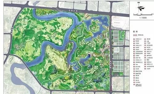 大连花园口区规划图
