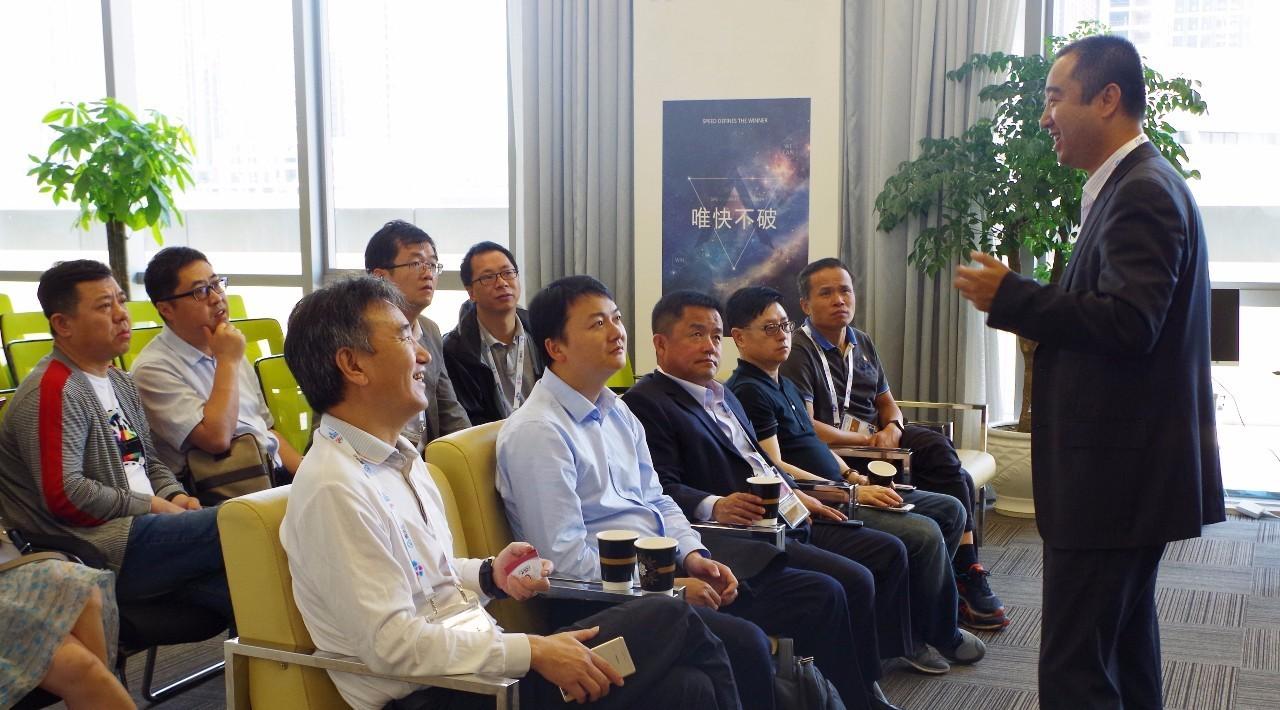北京大数据研究院院长助理傅毅明一行参访贵阳大数据交易所,共议产业图片