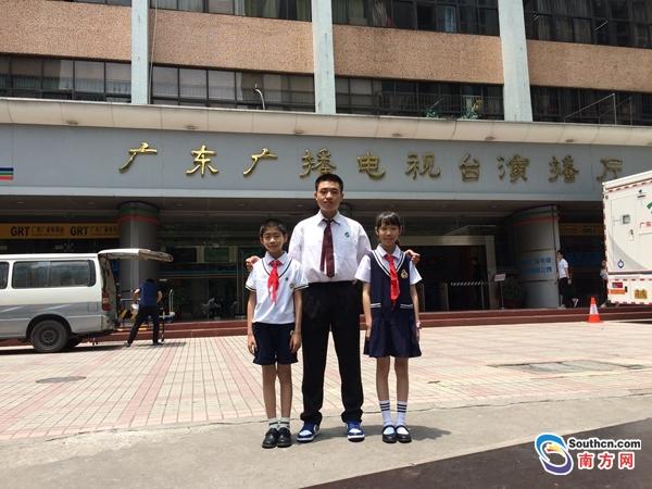 汕头3少年荣获 最美南粤少年 称号 组图