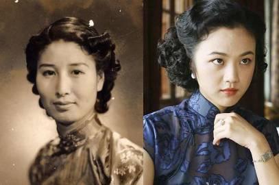 《色戒》中的迷人汤唯,原型竟是中日混血美女,民国真正的名媛,她的故事比电