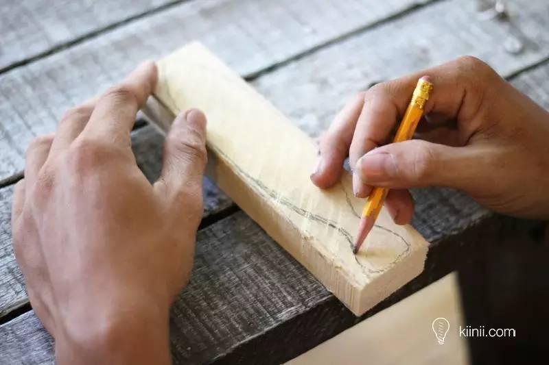 人人都可以是手残党 - 彩绘木雕小鱼diy手工制作教程