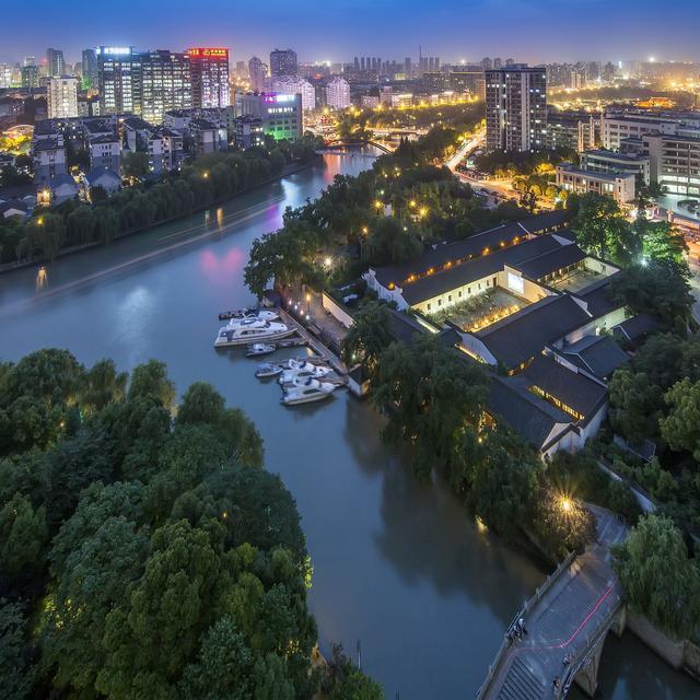 京杭大运河风雨千年却尽显妖娆