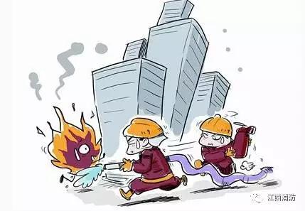 遭遇火灾,危难之际父亲把两个孩子从4楼扔了下