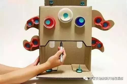 立体纸箱手工创意作品