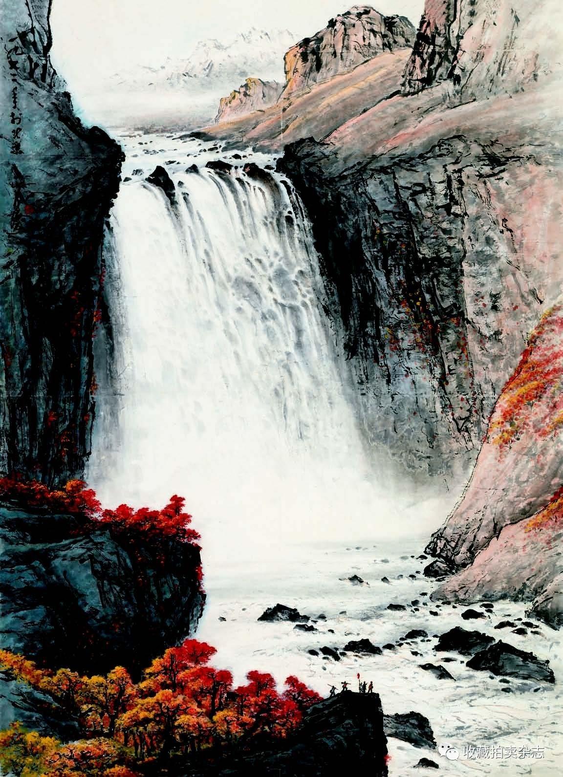文化 正文  释文:一九七二年于北京,山月画 钤印:关山月印 ●  高古图片